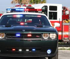 cop car Cherryroad Technologies